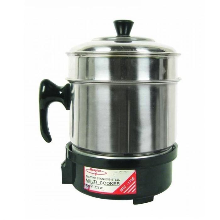 Maspion MEC-1750 Multi Cooker Panci Listrik Alat Masak Serbaguna