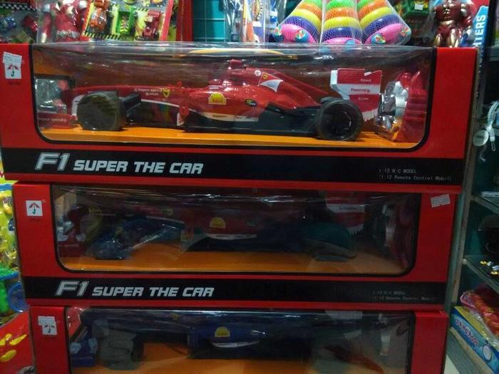 (Promo Hari Ini) RC Formula F1 Super The Car 1:12 Scale