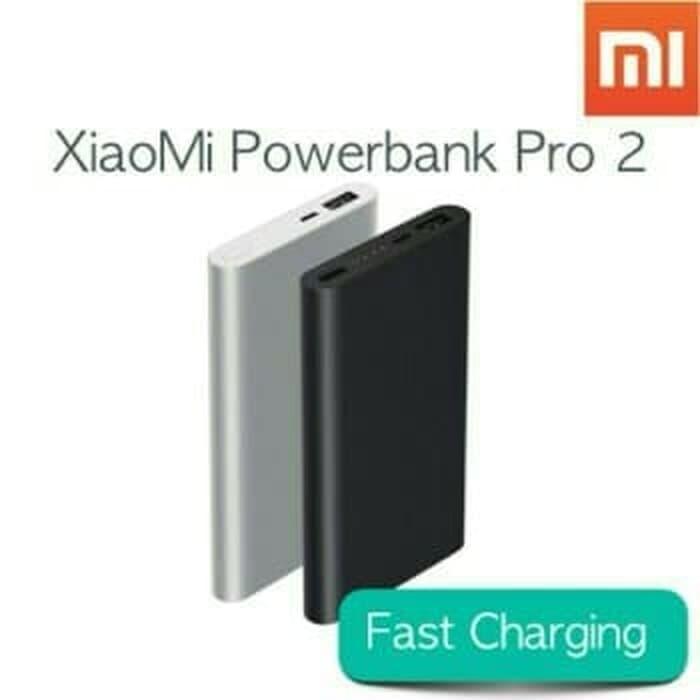 Powerbank Power Bank XIAOMI 2 10000Mah Fast Charging Charge PB XIAO MI