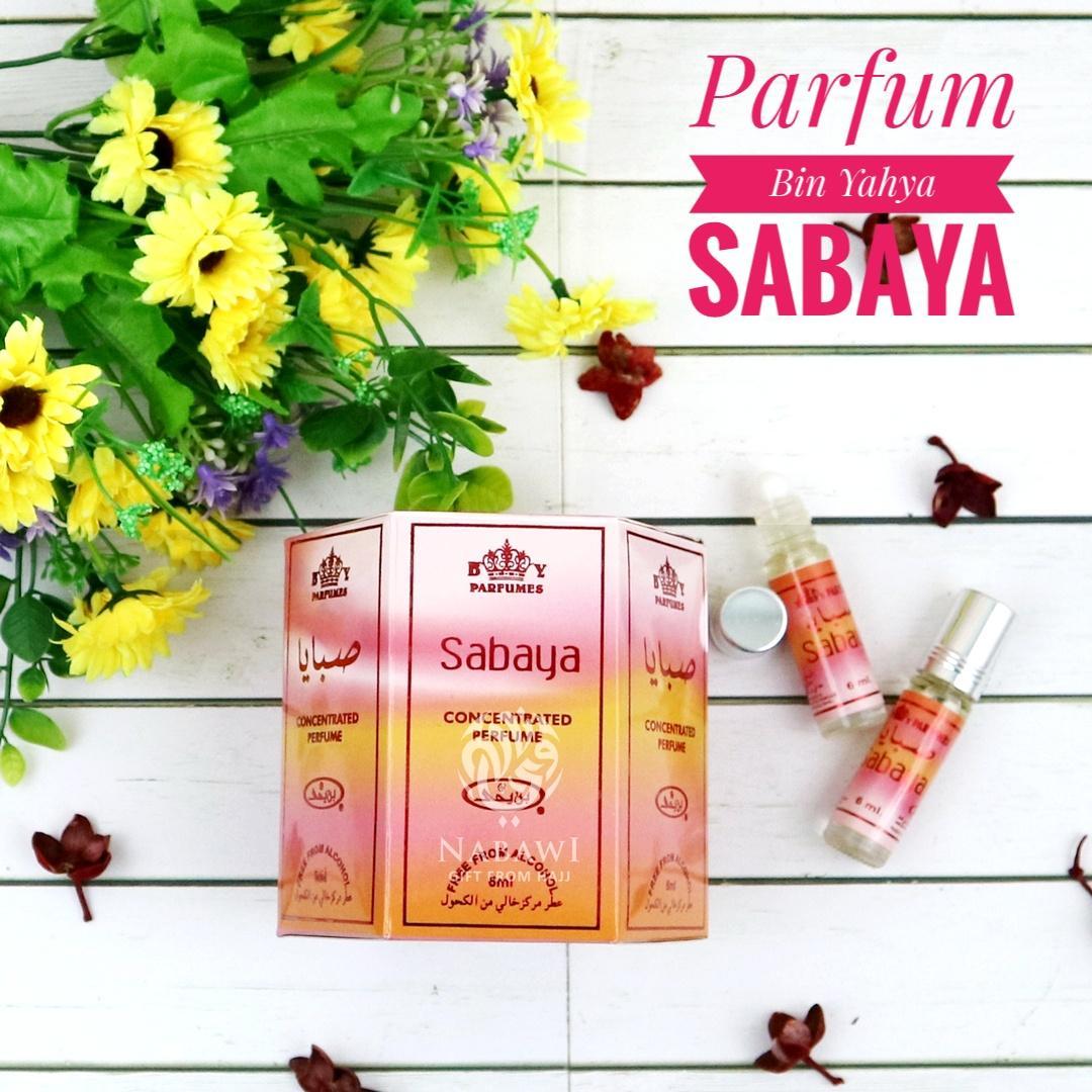 Parfum Minyak Wangi Non Alkohol Original Bin Yahya Sabaya 6 Botol Oleh Oleh Haji dan Umroh