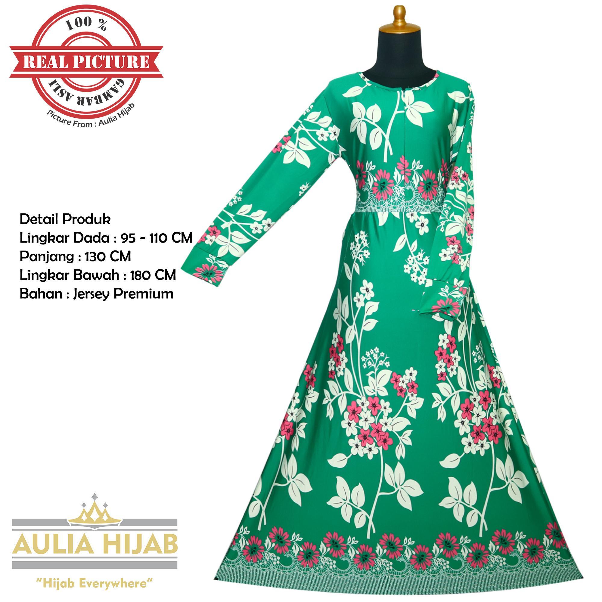 Aulia Hijab - Gamis New Cindy Dress Bahan Jersey /Gamis Jersey/Gamis Batik/Gamis Premium/Gamis Pesta/Gamis Real Picture/Gamis Santai/Gamis Kerja/Gamis Harian/Gamis Termurah/Gamis Asli