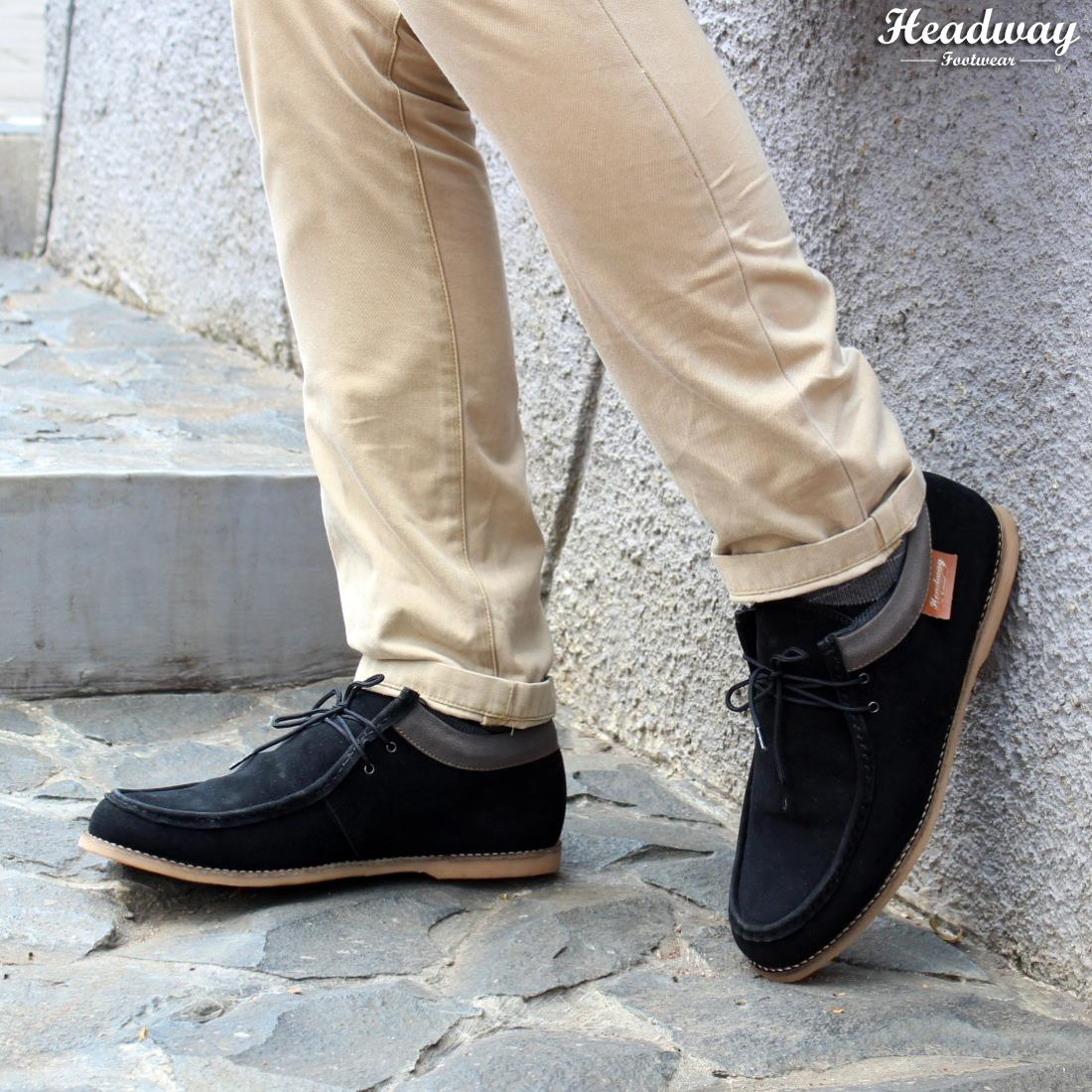 Buy Sell Cheapest Headway 42 Regal Best Quality Product Deals Infinite Black Tan Sepatu Casual 05 Loyal