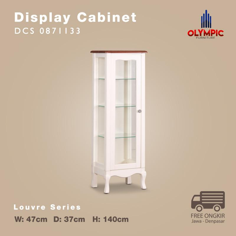 Olympic Louvre Series Display Cabinet Small Rak Pajangan Kecil European Style - DCS 0871133