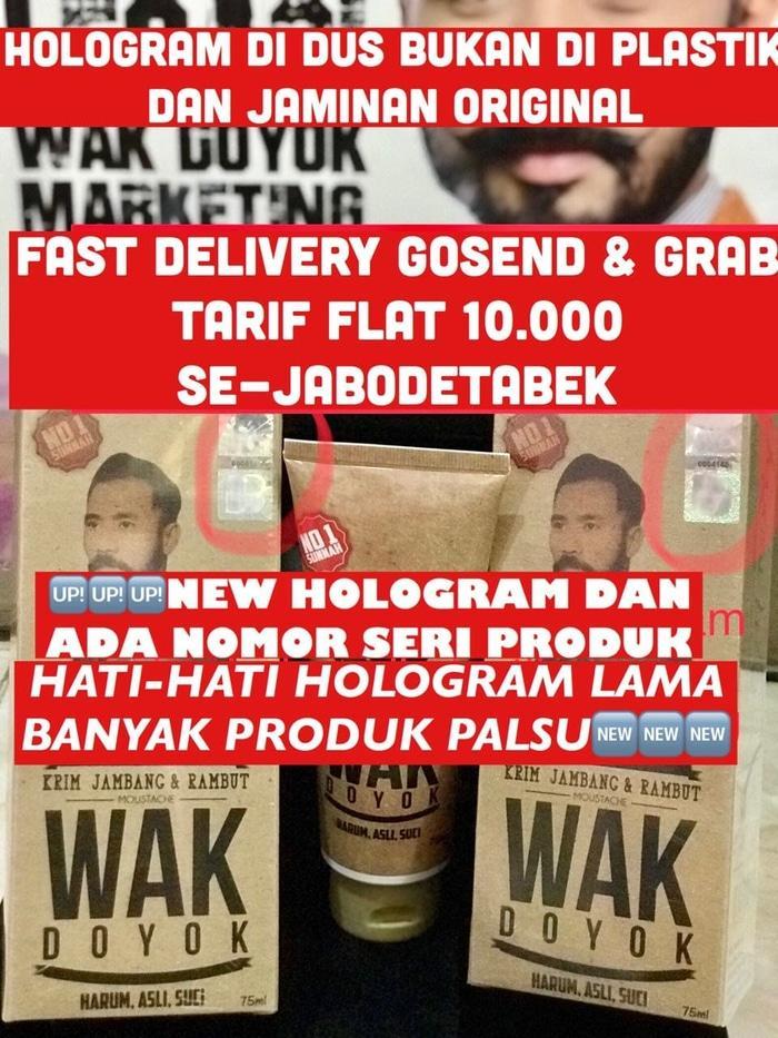 Krim Jambang Wak Doyok Penumbuh Bulu Original Wakdoyok Malaysia 75ML - iIn4IV