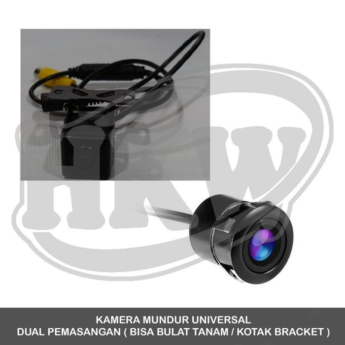 Kamera Mundur Universal Dual Pemasangan Mobil Sigra