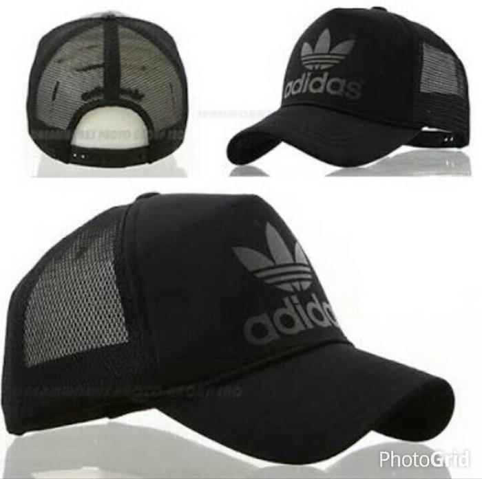 Topi / Cap / Hat Trucker Adidas 2.3 - Black Terlaris di Lazada