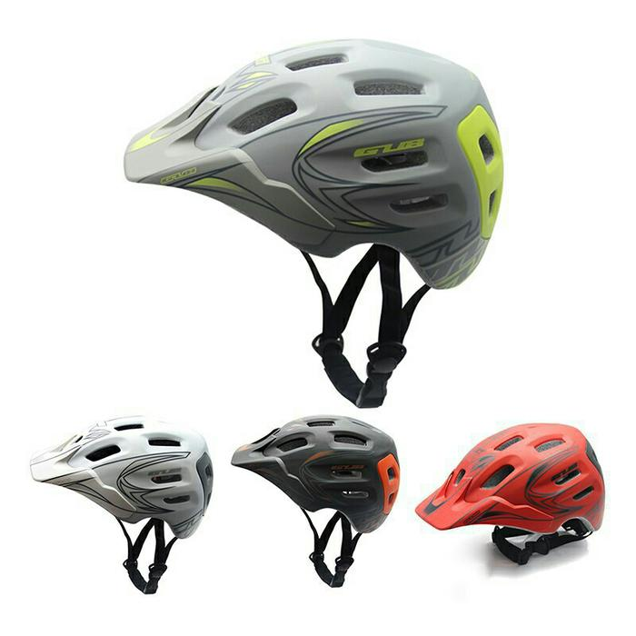 BEST SELLER!!! Helm Sepeda Gub XX7 Grey not Fox Giro Mexel Polygon United - Merah - OVFT12