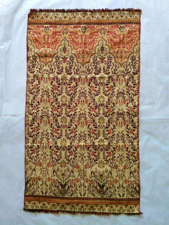 sajadah alydrus batik Metalik - Souvenir / Oleh Oleh Haji dan Umroh