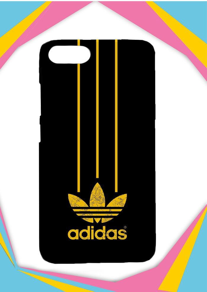 Casing Asus Zenfone 4 Max ZC554KL 5,5inch Custom Hardcase Adidas Yellow O0458 Case Cover