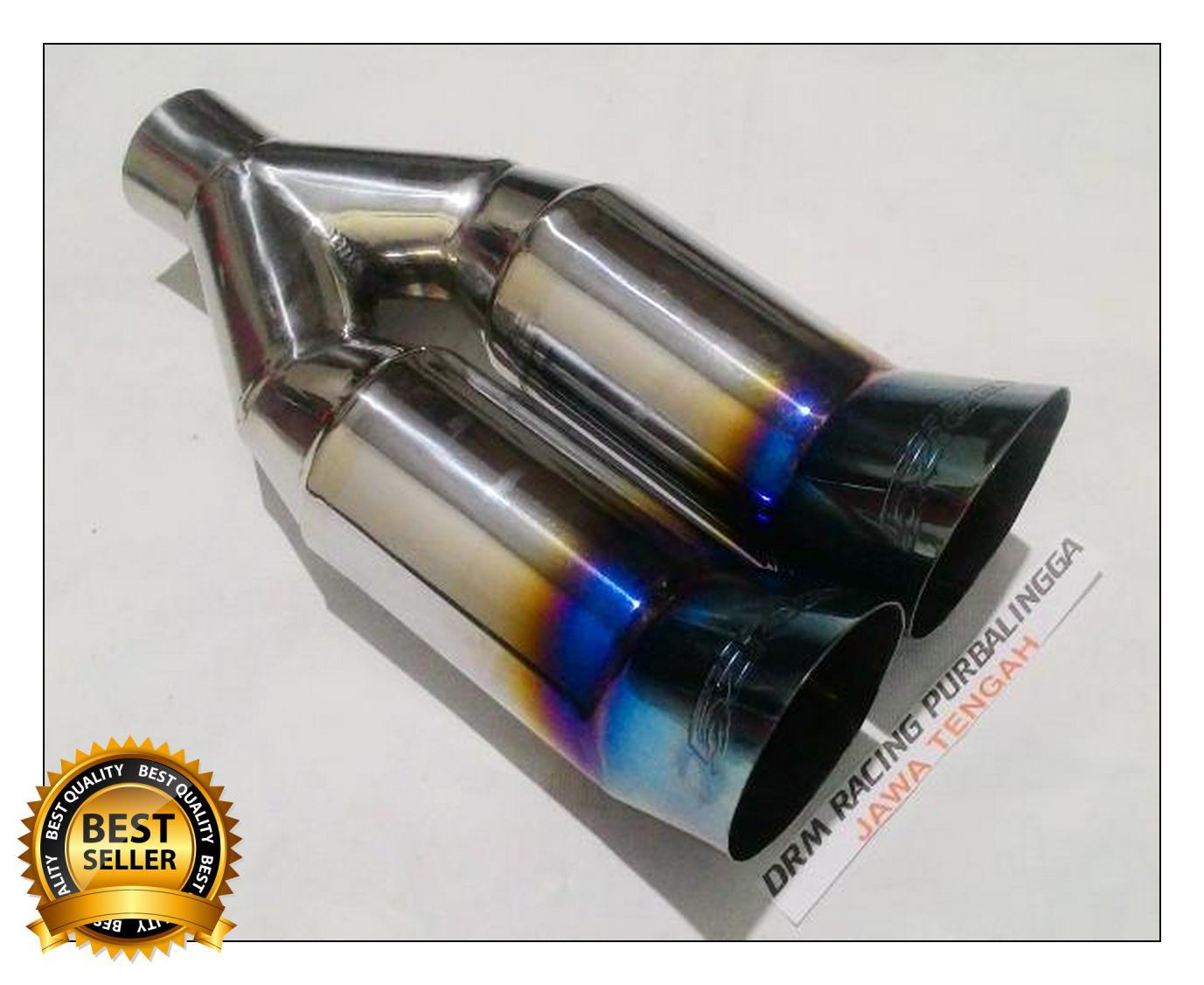 Features Knalpot Mobil Racing 5zigen Cabang Blue Burn Yaris Ertiga Muffler Js Avanza Xenia Agya