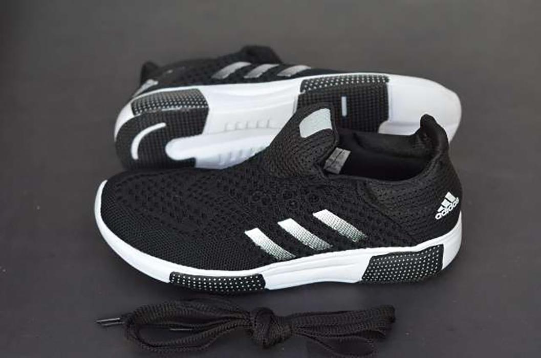Promo sepatu adidas maduro mens black casual import made in vietnam Diskon