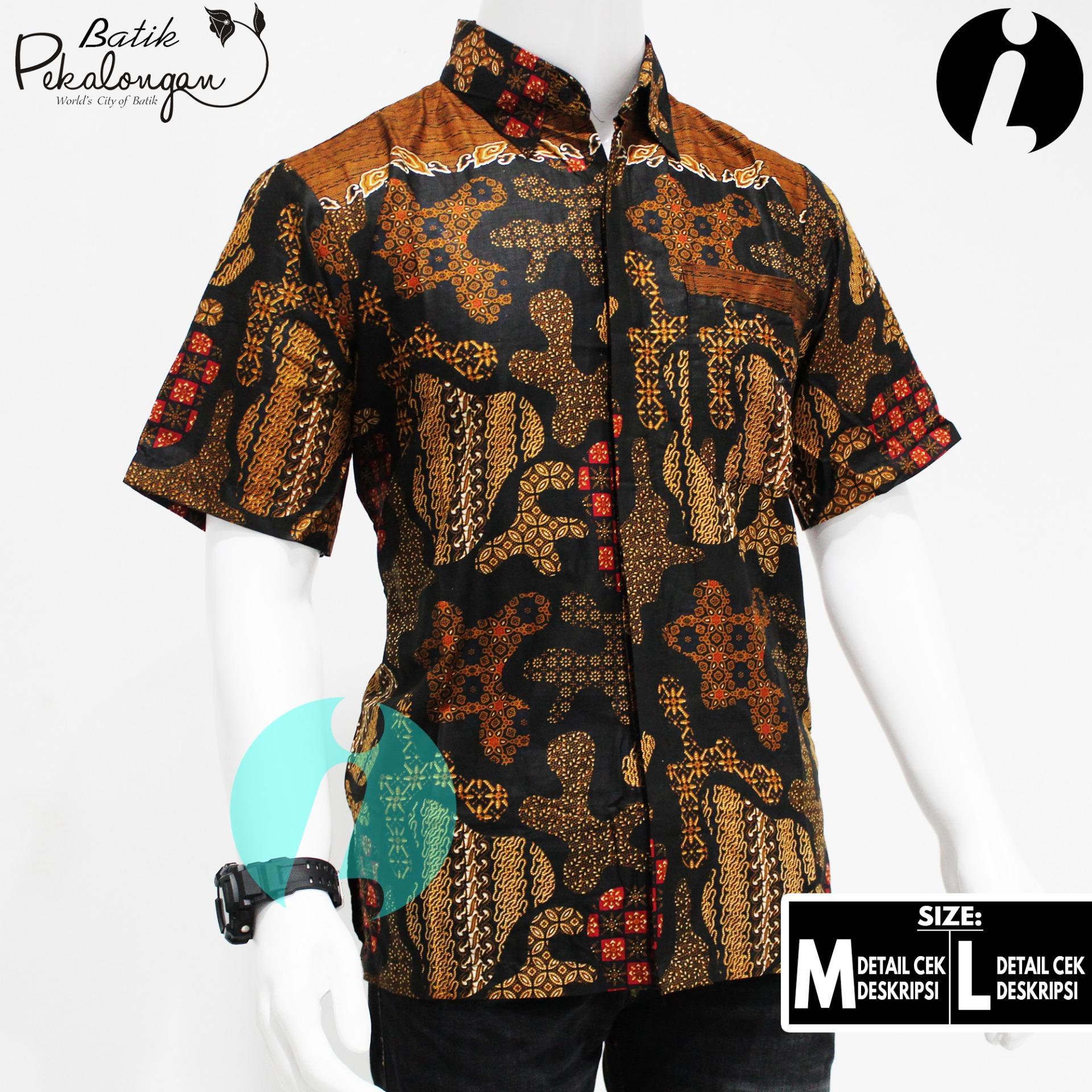 Baju Batik Pria Batik Pekalongan Model 014 - Christmas Design Ideas 2018 430e505ad7