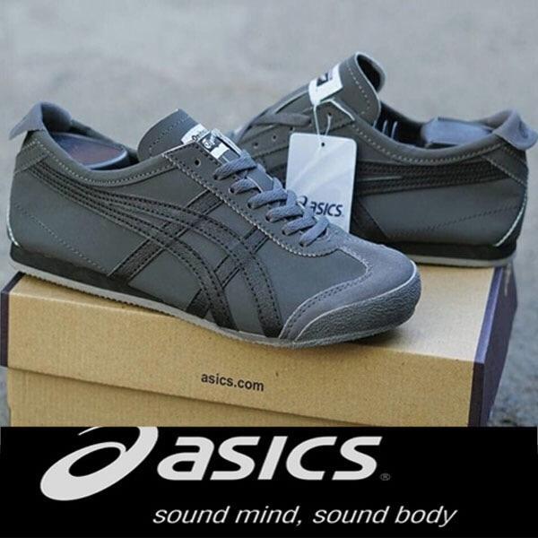 Sepatu sneakers asics tiger abu htm best seller