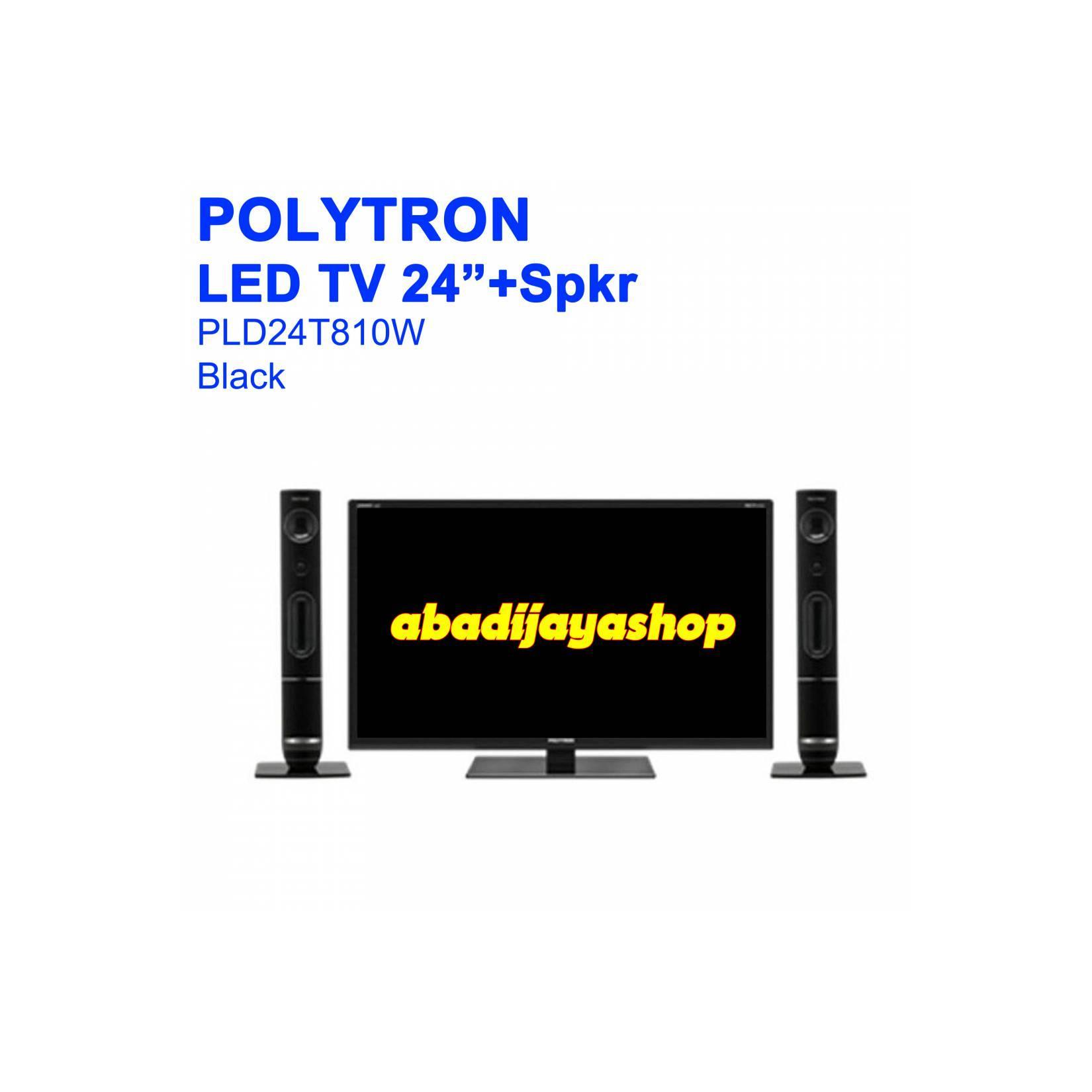 LED TV Polytron PLD24T810W PLD 24T810 WHITE