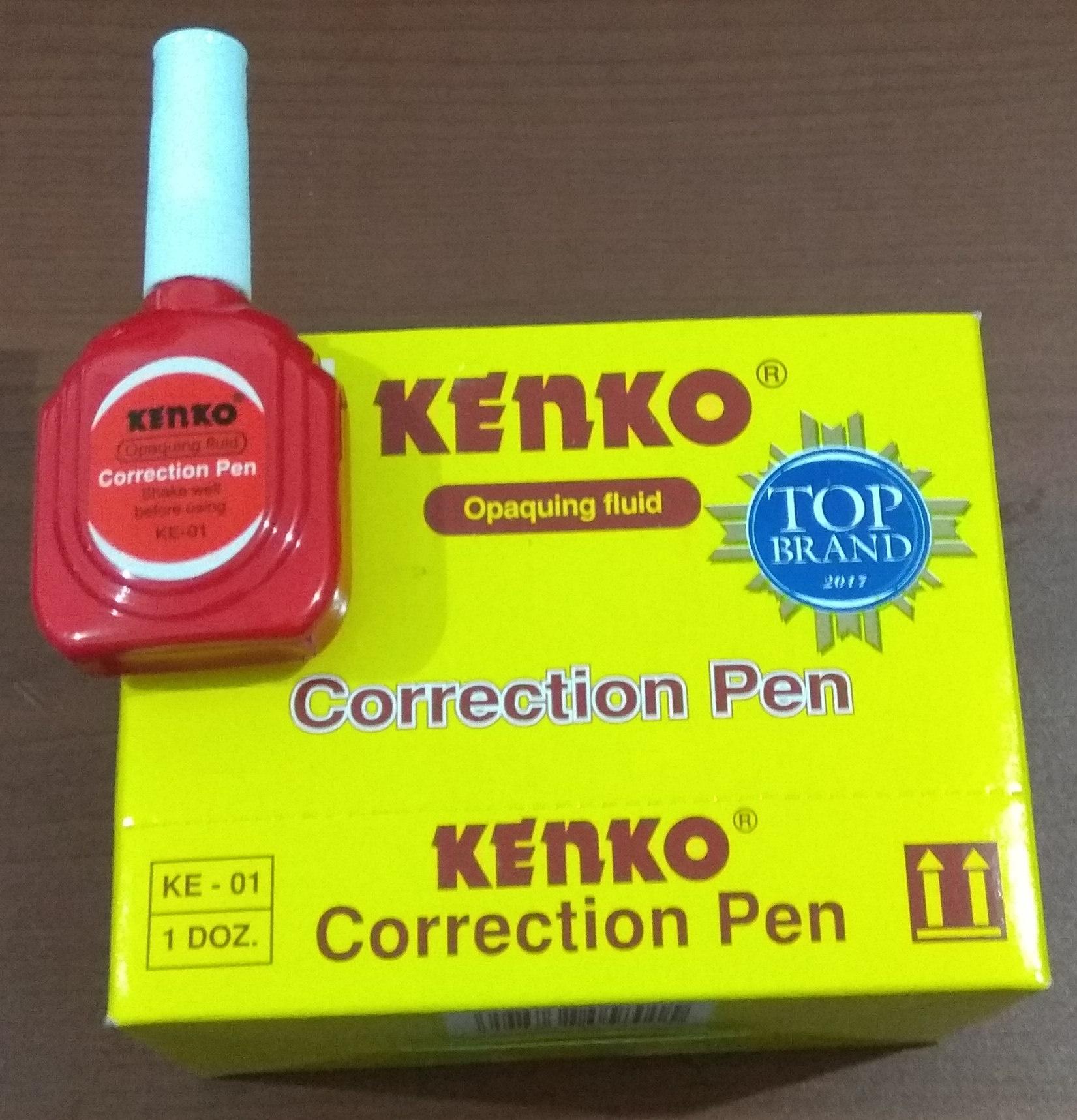 Detail Gambar KENKO Correction Pen Terbaru
