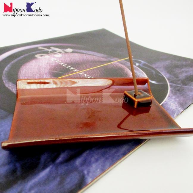 YUKARI Ceramic Brown Plate