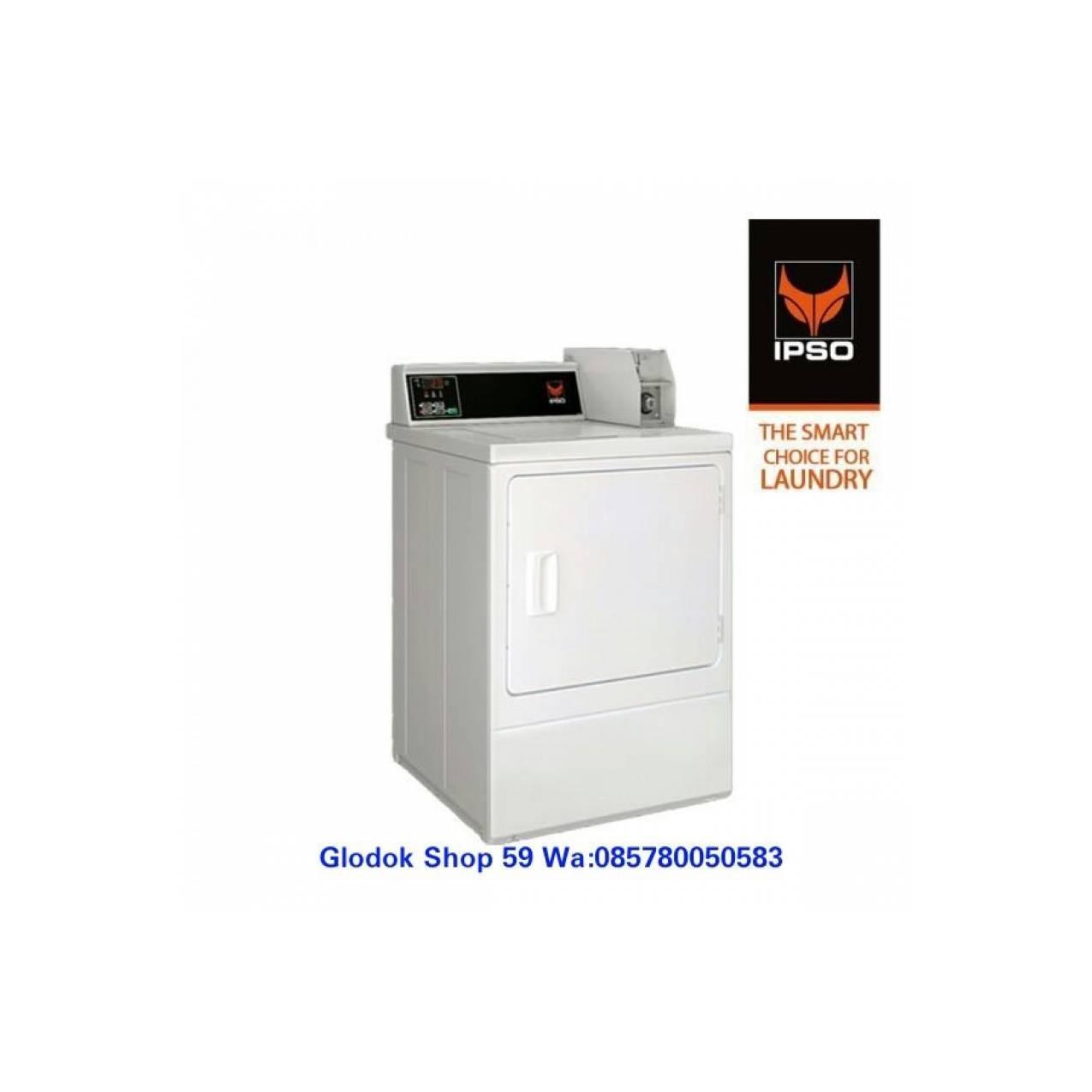 IPSO MESIN PENGERING 10.5 KG COIN NDG DIGITAL PANEL LAUNDRY EXPRESS