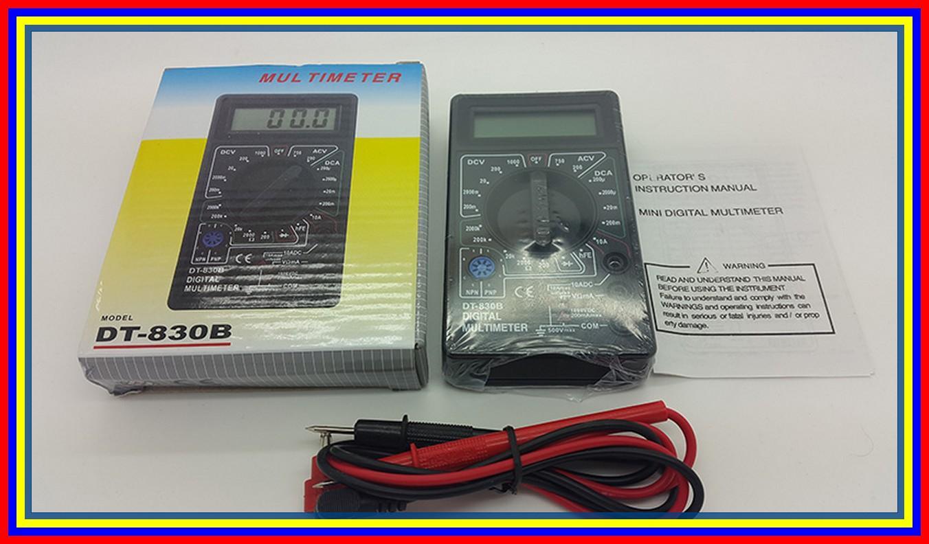 Digital Multitester Dt830B