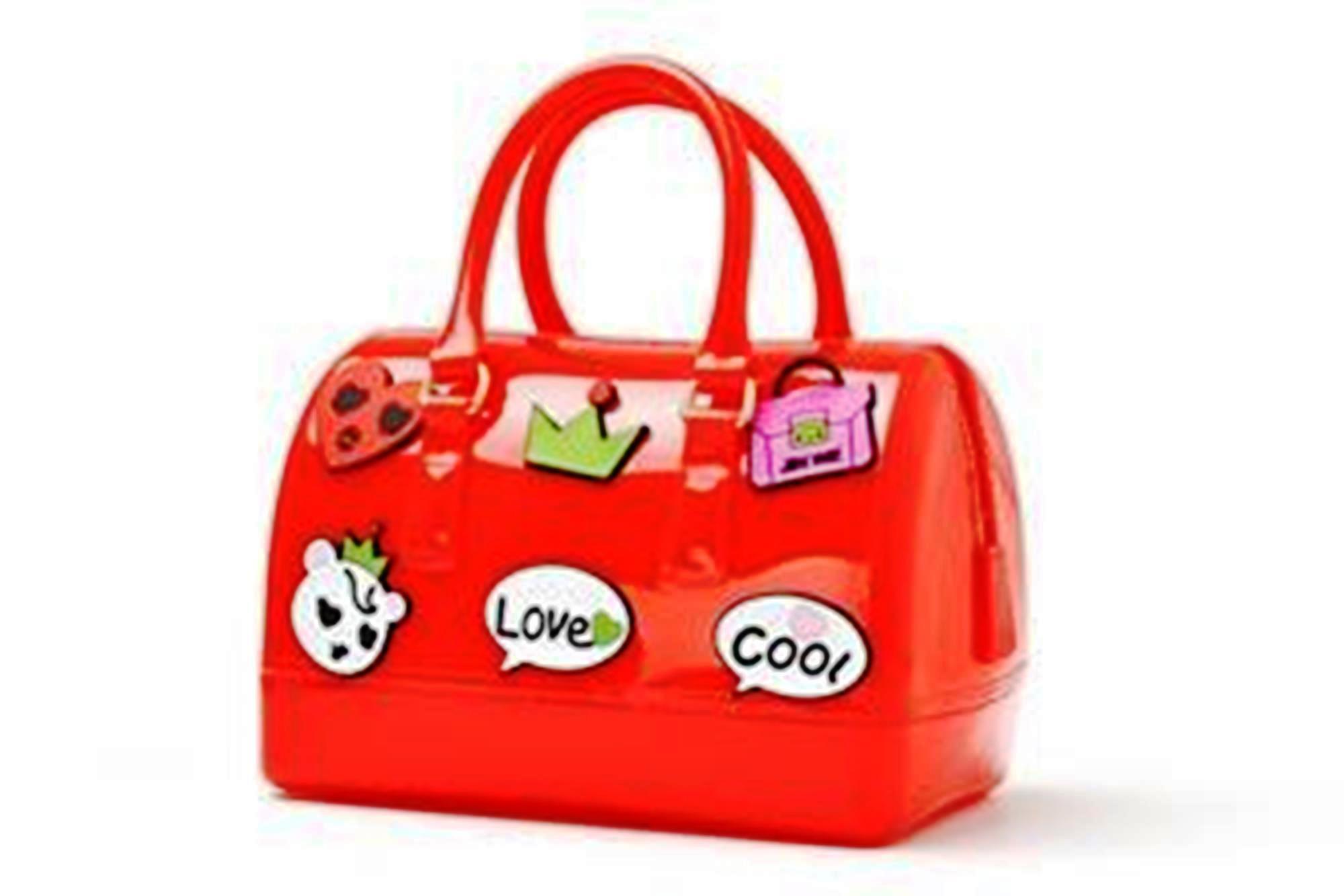 Tas Fashion Wanita Import, Tas Wanita, Tas Import Grandy's Jelly Furla Patch Sticker