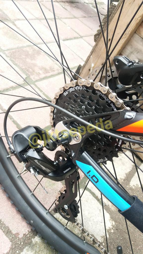 Sepeda MTB Thrill Cleave ban 27,5in - Z1wHE8