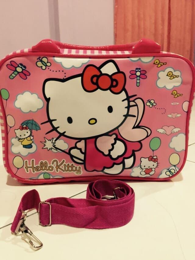 Tas Travel Koper Kecil - Hello Kitty - TUu41z
