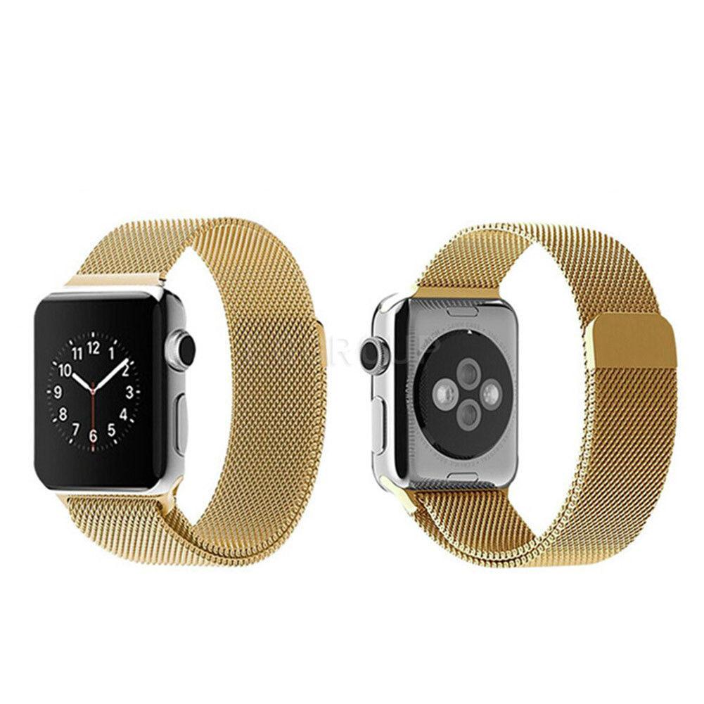Cooltech Apple Watch 42Mm Milanese Loop Magnet Strap Band Stainless Series1/2/3 -