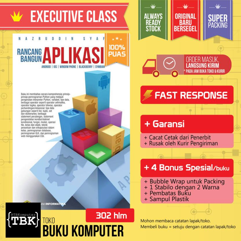 Buku Rancang Bangun Aplikasi Multiplatform ( Android, IOS, Windows Phone, Blackberry, Symbian)