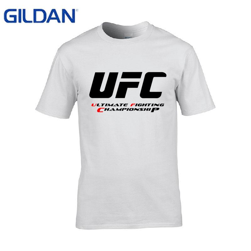 6a0b5229692 Ultimate Fighting Championship Ufc men t Shirt 2017 cotton t Shirt 2017  Euro Size S-