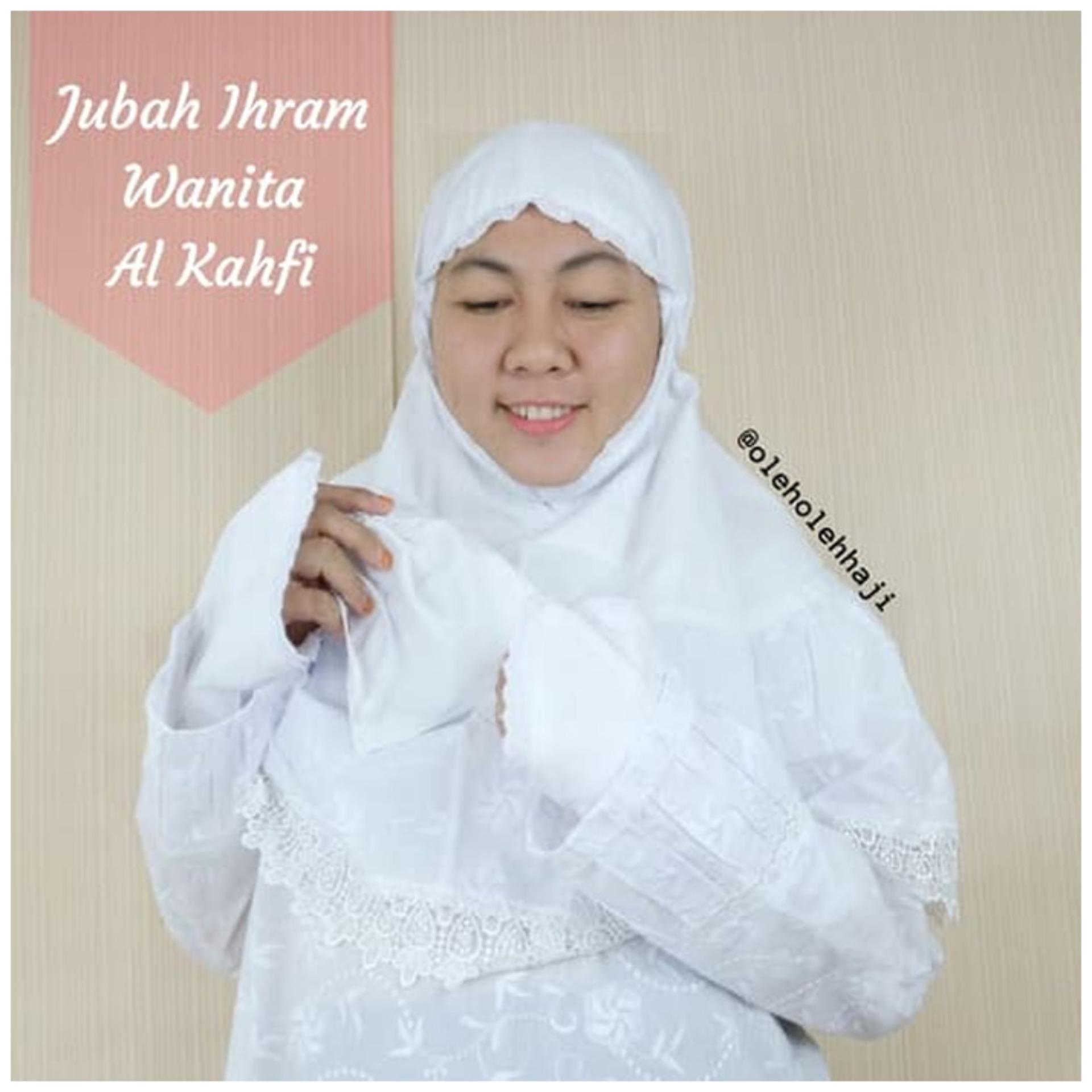 Nabawi Baju Setelan Ihram Wanita Al Kahfi
