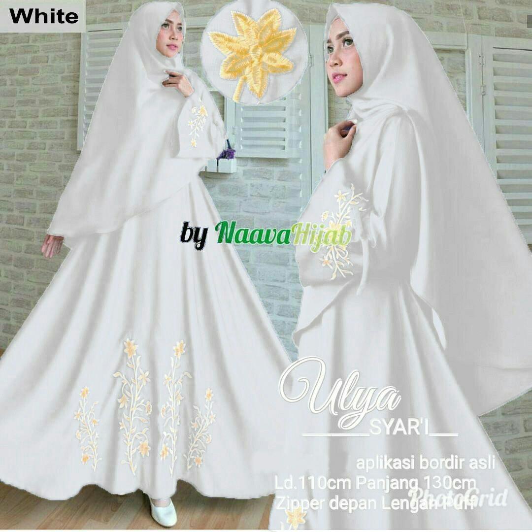 Jakarta Couple - Syari'i Embos  /Syari Maxi Cantik /Baju Gamis Muslim/ Gamis Mutiara / Gamis Murah / Atasan Muslim Wanita / Pakaian Baju Muslim