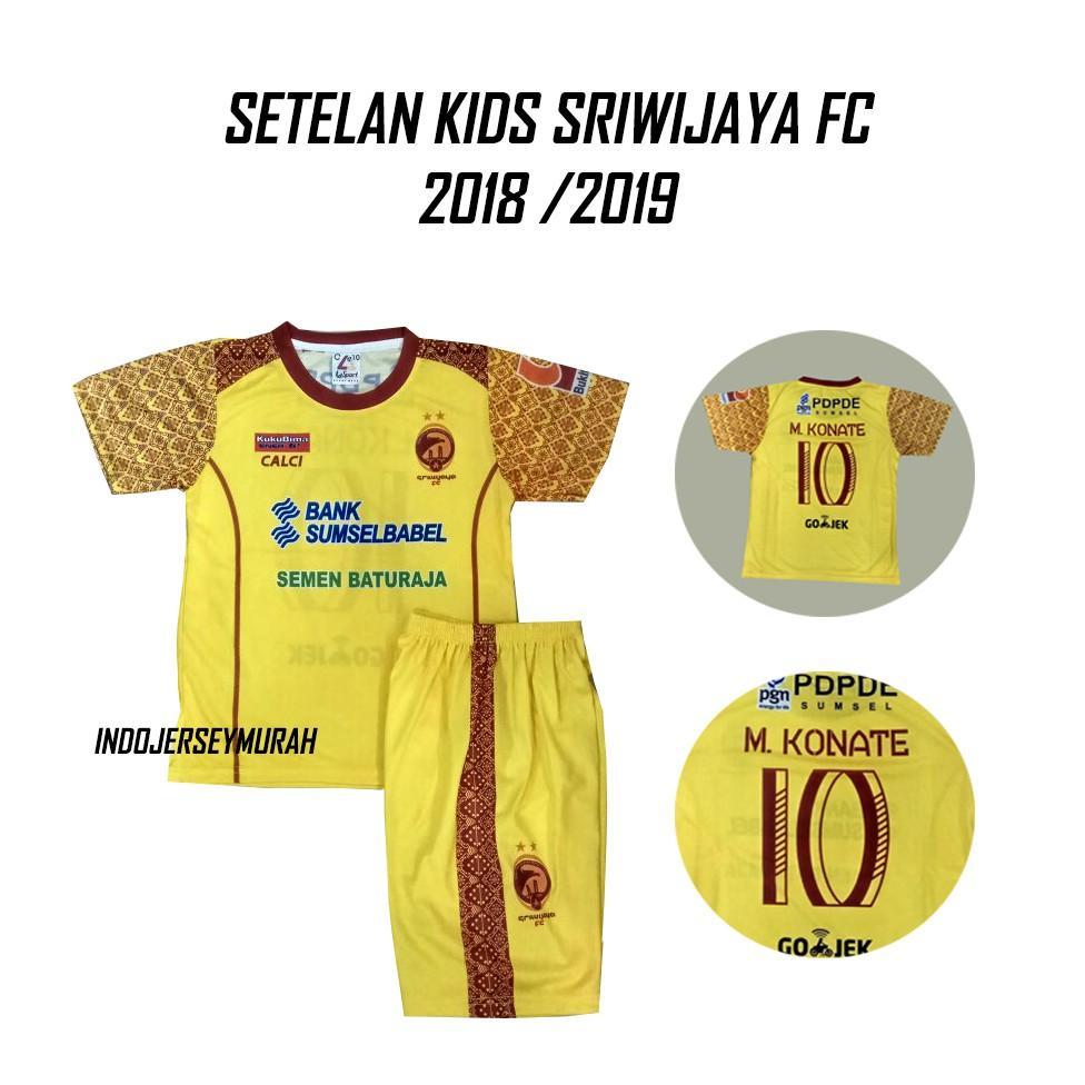 Kehebatan Setelan Kids Persib Kiper Abu Jersey Bola Gk Dan Harga Kaos Baju Persija Hitam Liga Gojek Sriwijaya Fc Kuning