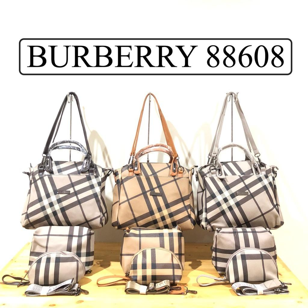 Tas Import Branded BURBERRY 3in1 Super (Kode 88608)