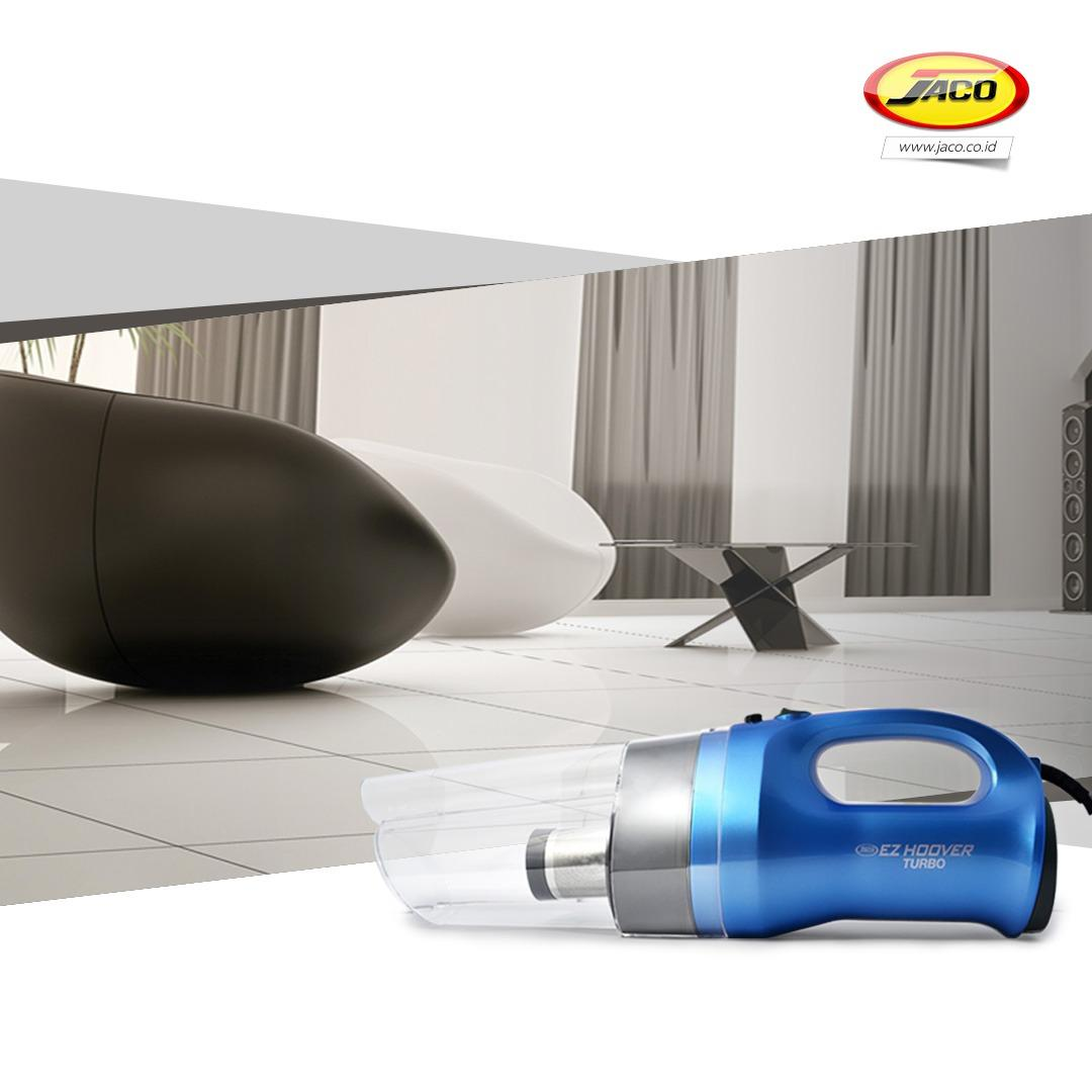 Jaco Penyedot Debu Super Cyclone - Ez Hoover Turbo +  EZ Hoover Turbo Car Vacuum - Household