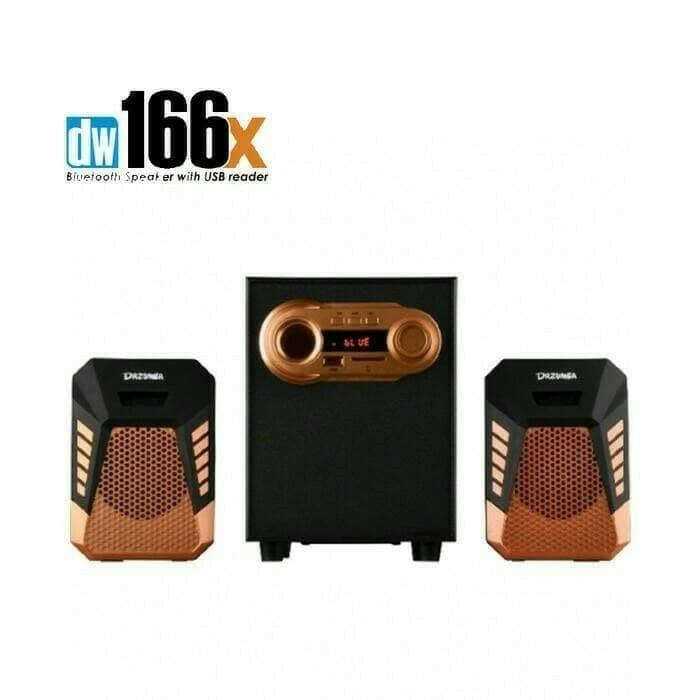 ... Speaker Dazumba Aktif Portable DW166X Bluetooth Subwoofer BASS - 3 ...