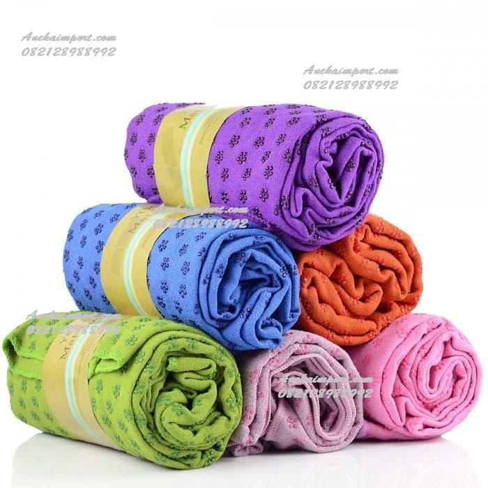Terbaru!! Yoga Towel Handuk Matras Yoga Alas Yoga Foam Roller Yoga Mat Blanket - ready stock