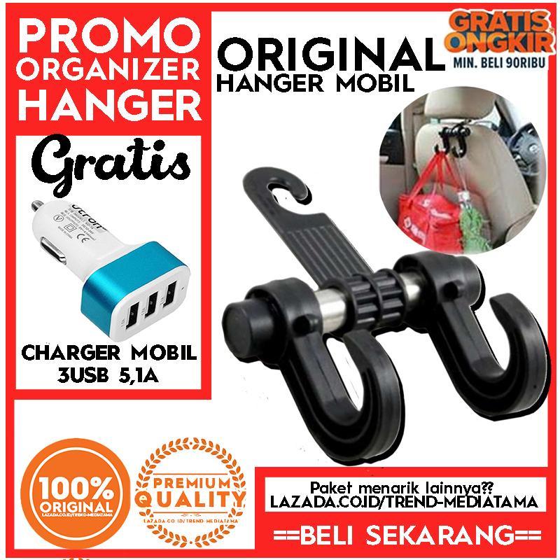 [HOT Promo] Promo Car Hanger Aksesoris Gantungan kursi jok di Mobil Universal Vehicle Holder