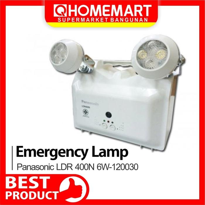 Promo Terlaris Emergency Lamp / Lampu Emergency Panasonic LDR400N 6W