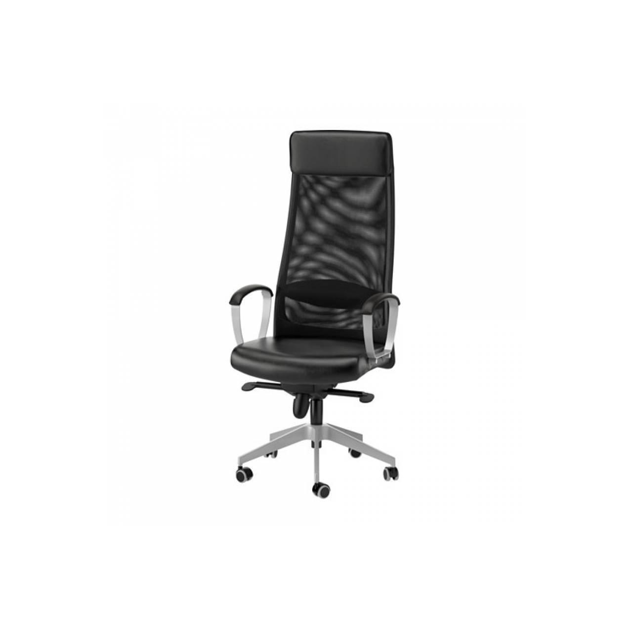 IKEA MARKUS Kursi putar / Kursi Direktur Kantor, Glose Robust hitam