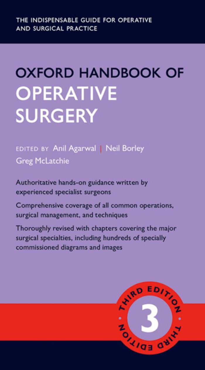 Buku Kedokteran Handbook of Operative Surgery 3e
