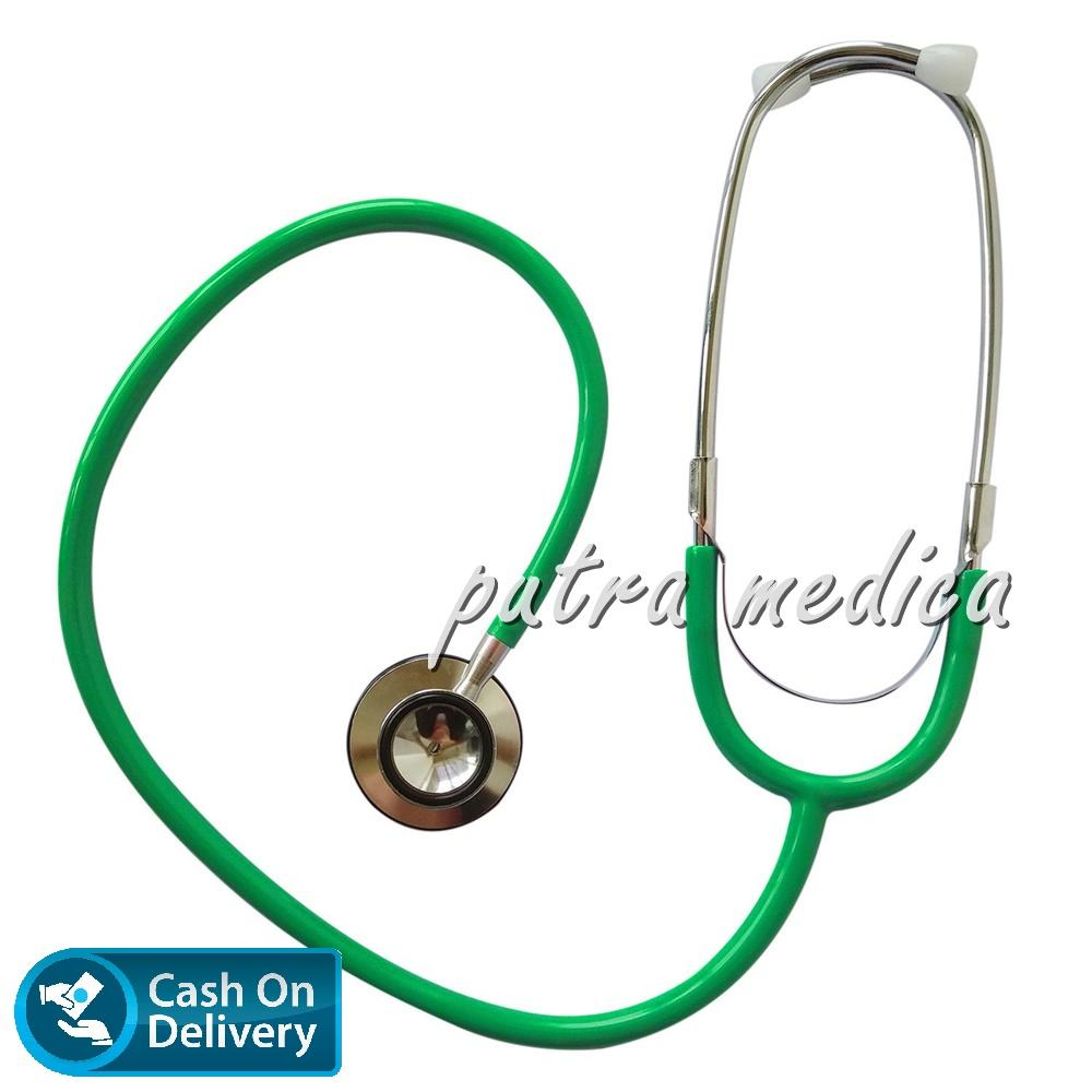 Buy Sell Cheapest Stetoskop Abn Karakter Best Quality Product Classic Putra Medica Spectrum Dual Head Green Stethoscope Stethoscop Stetoscope