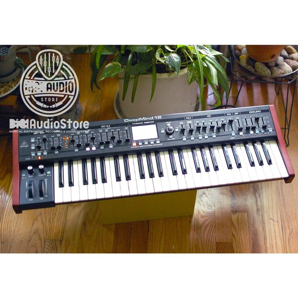 Keyboard Synthesizer Behringer DeepMind 12 Sequencer Wifi Ipad Android