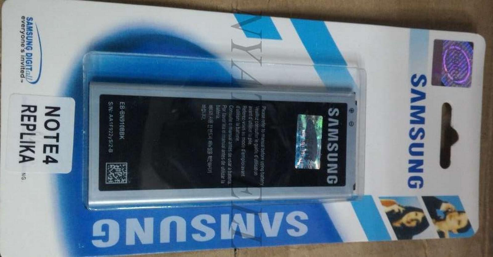 Galaxy Note 4 Replika Batre Baterai Samsung Original 99% Ori N9100 Sc