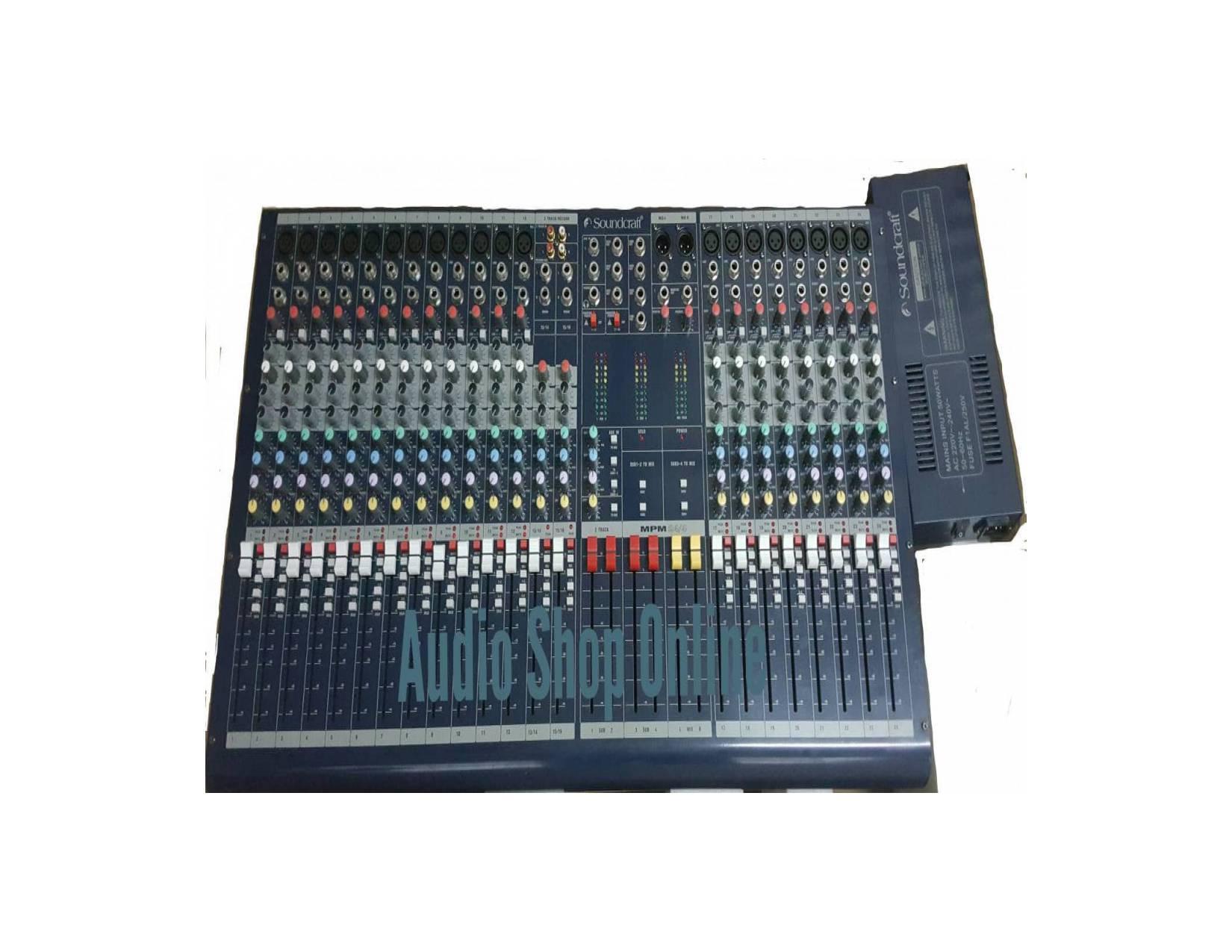 Audio Mixer SOUNDCRAFT MPM 24