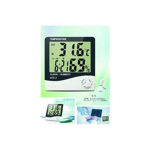 BEST SELLER!!! Hygrometer Thermometer HTC-2 Digital LCD Higrometer Termometer Ruangan