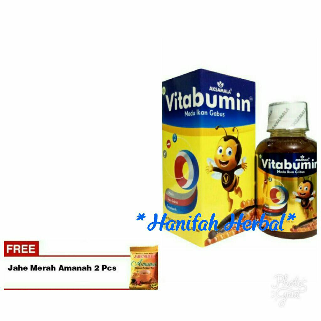 Buy Sell Cheapest Vitabumin Madu Albumin Best Quality Product 1 Botol Isi 130ml Anak Orginal Hologram 130 Ml