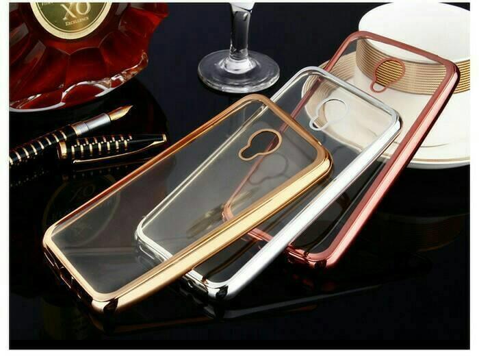Case LUNA G55 Case Shining Crome LUNA G55 Silikon Crome