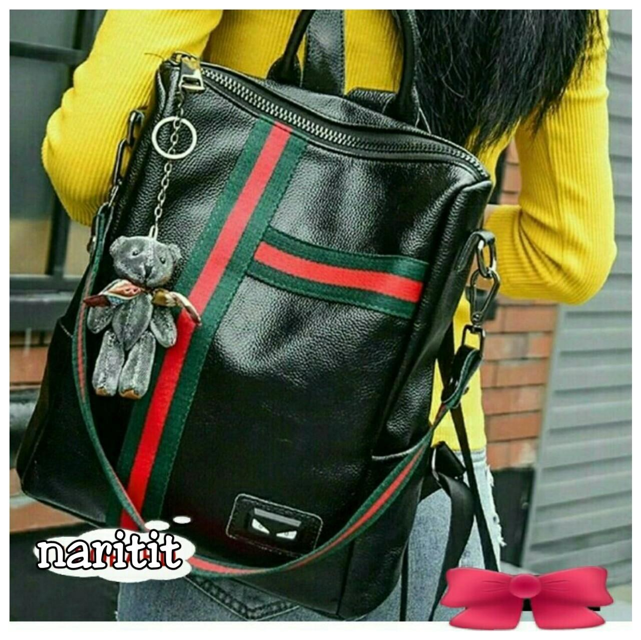 Tas Gucci Hitam R2 Ring's store