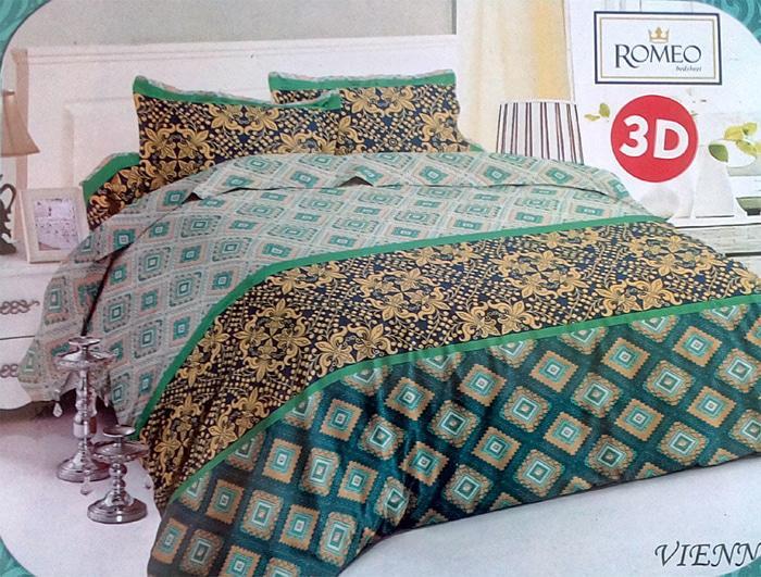 Bedcover Romeo ukuran 180 x 200 / King / No.1 - Vienna