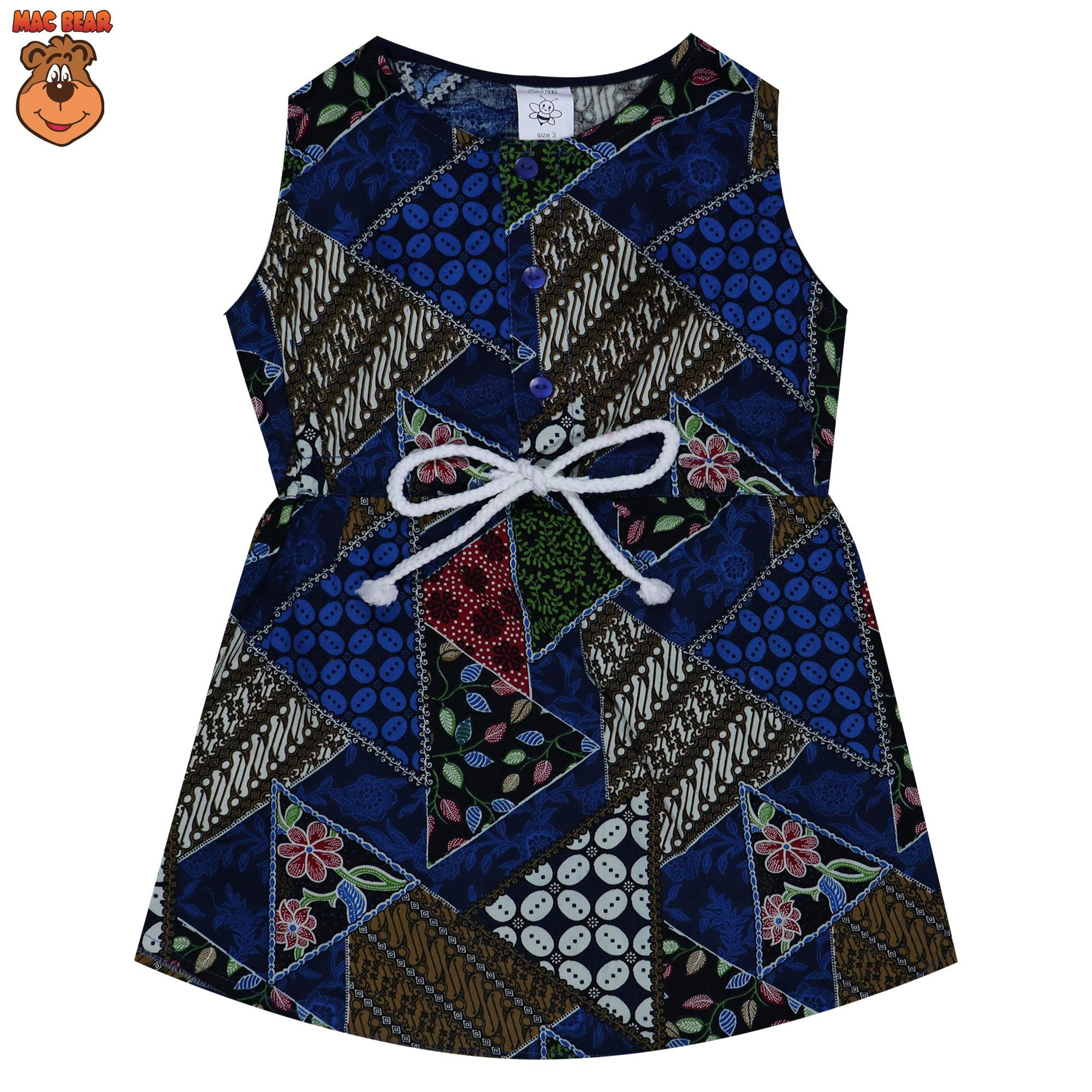 MacBee Kids Baju Anak Dress Batik
