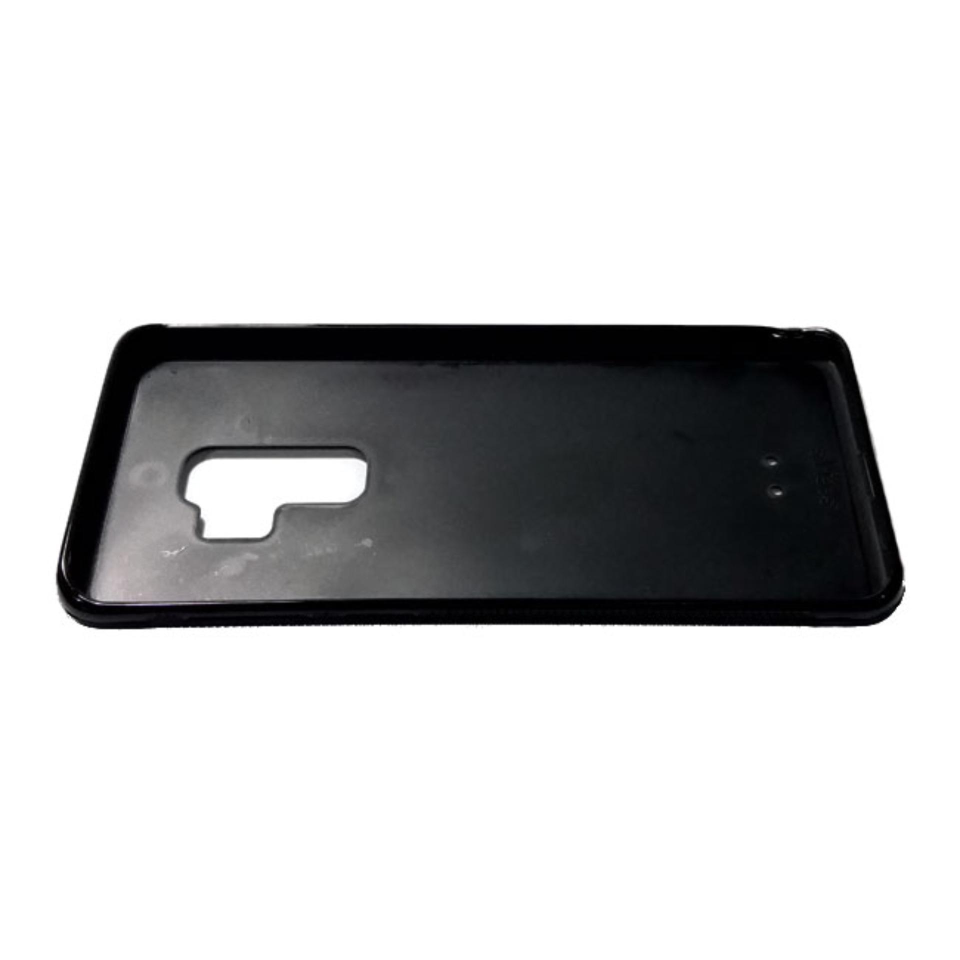 HEAVENCASE Case Casing Samsung Galaxy S9 PLUS Case Softcase Hitam Motif Unik Tuxedo .